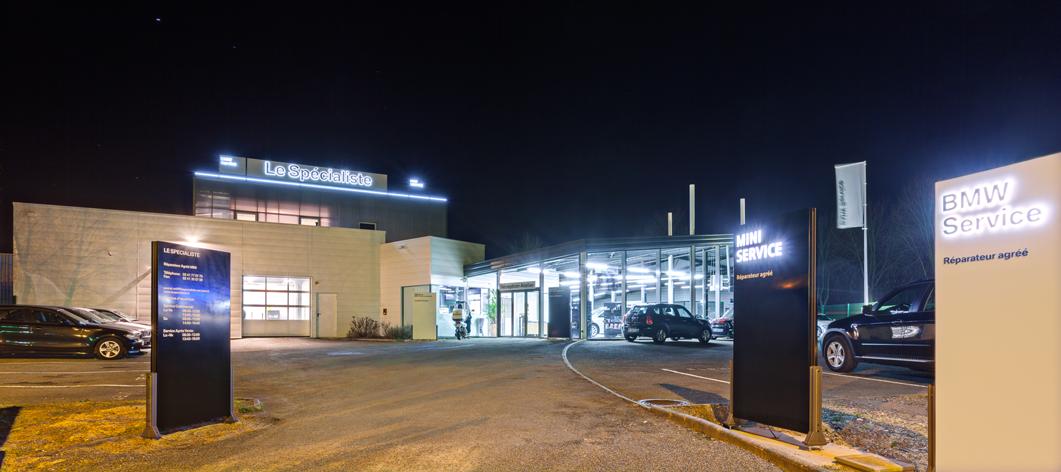Réparateur agréé BMW et MINI, à Angers, Beaucouzé.